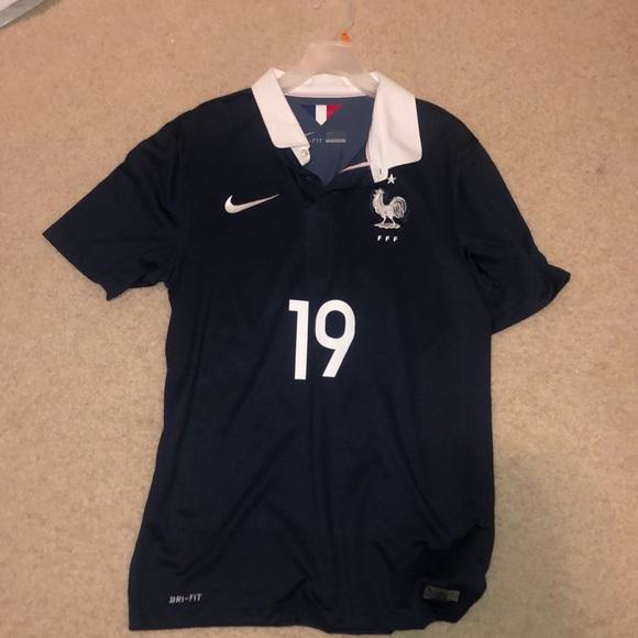 best service 52f60 3cfbf authentic France Paul Pogba soccer jersey
